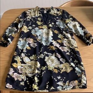 H&M Floral Dress Long Sleeved